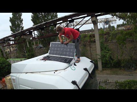 Солнечные панели на ФУРЕ