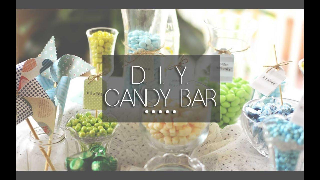 Diy Candy Bar Floreign