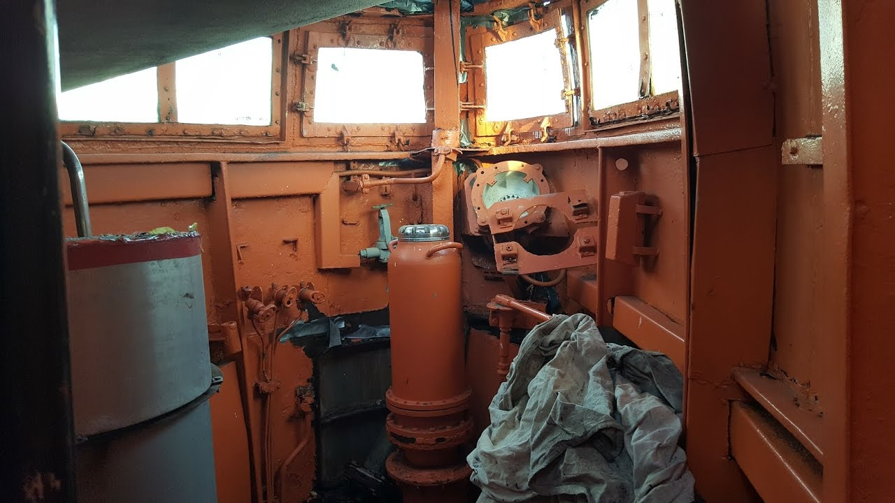 Inside The Conning Tower Of A Soviet Foxtrot Submarine