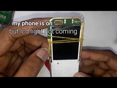 nokia 110 lcd light solution 100% working