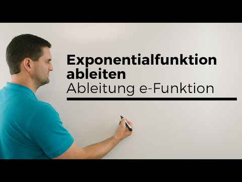 Exponentialfunktion ableiten, Ableitung e-Funktion, einfache Übersicht   Mathe by Daniel Jung from YouTube · Duration:  5 minutes 38 seconds