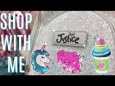 JUSTICE SHOP WITH ME 🦄