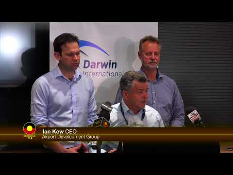 Darwin Airport Expansion ATV News
