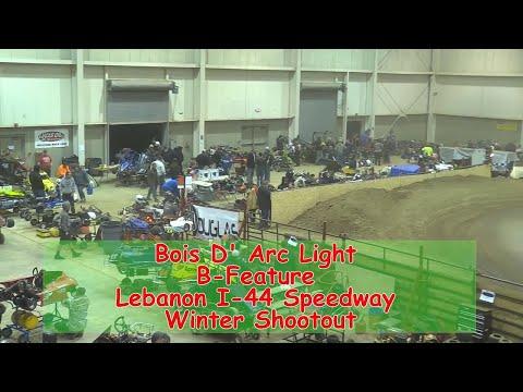 Bois D' Arc Stock Light B Main   I 44 Speedway Winter Shootout 1 19 2018