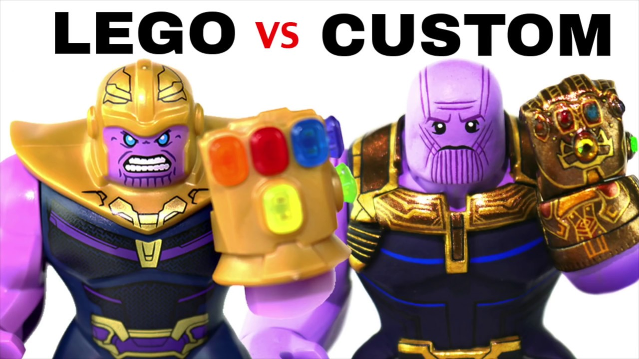 LEGO AVENGERS INFINITY WAR : Official Minifigs vs. Customs - EP1 #1
