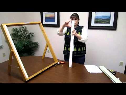How to Install Balcony Skylight Shade - Part 1