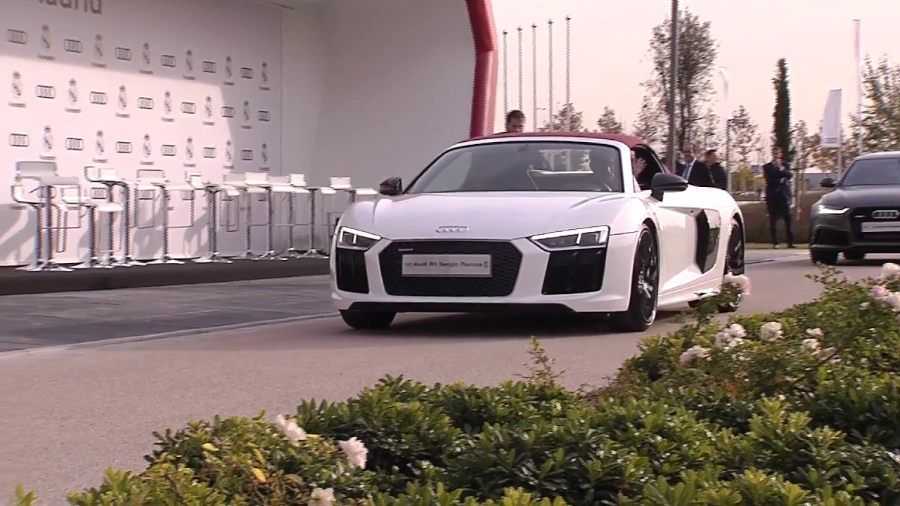 Real Madrid Players Recieving Their New Audi Cars Youtube
