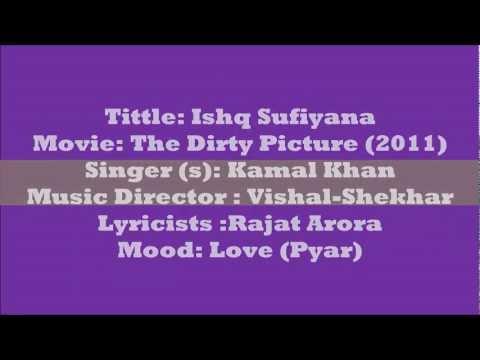 Ishq Sufiyana Lyrics (English Translation) - The Dirty Picture (2011) !HD! Kamal Khan