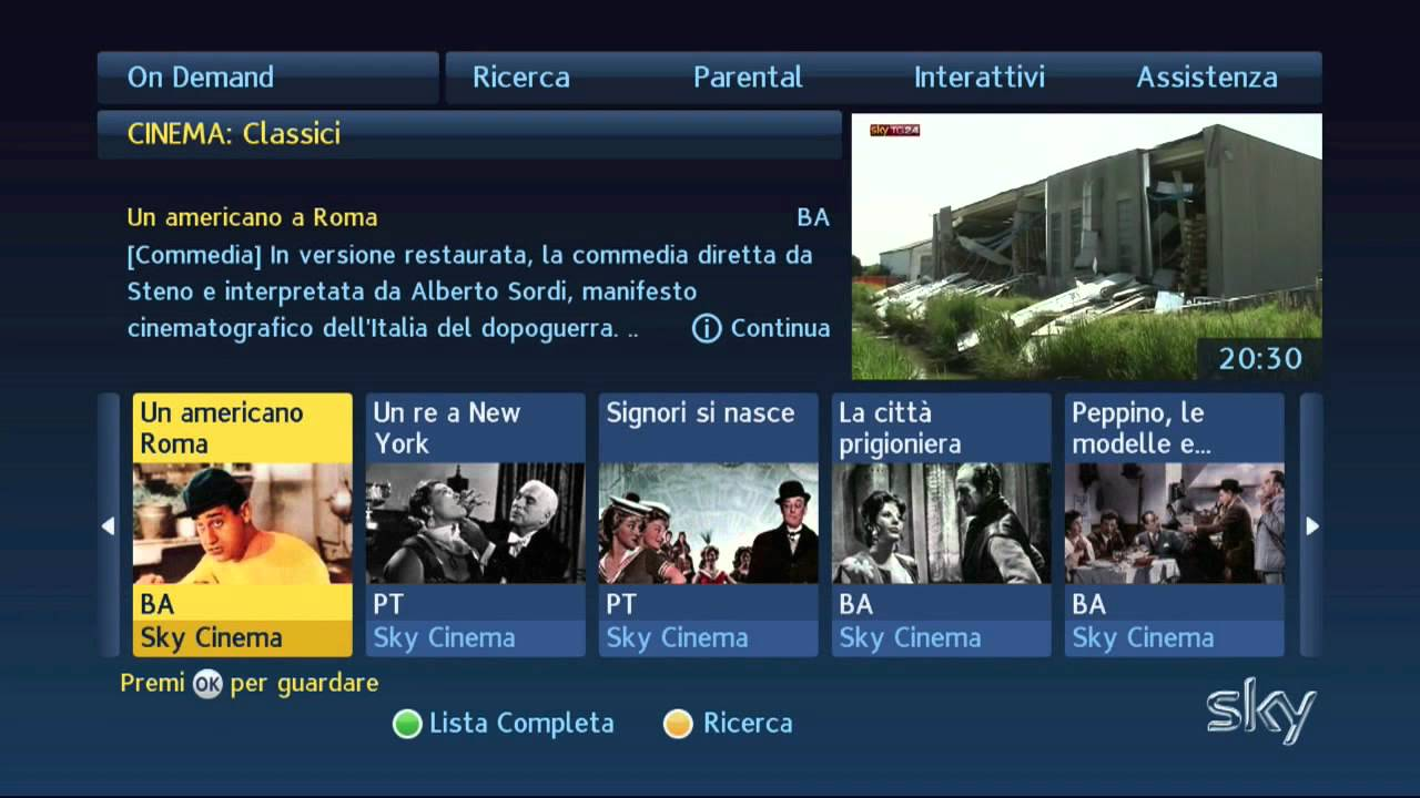 Sky On Demand Programm