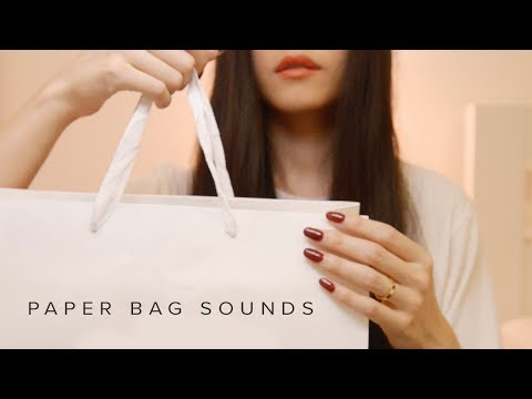 ASMR Paper Bag Tapping and Scratching Sounds (No Talking)