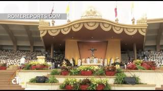 Papal Homily in Manila: Do not be swayed by the devil and his superficial distractions