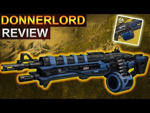 Destiny 2 Forsaken: Donnerlord Review / Waffentest (Deutsch/German)