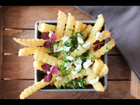 How to make garlic butter french fries with parsley and feta cheese how to make garlic butter french fries with parsley and feta cheese by one kitchen episode 150 solutioingenieria Images