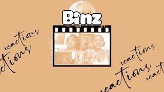 Solange- Binz (Official Video) | **REACTION** | #Binz | TwinChin TV
