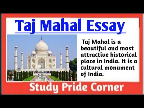 Essay on tajmahal