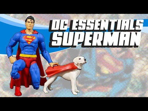DC Essentials Superman Action Figure Review Mp3