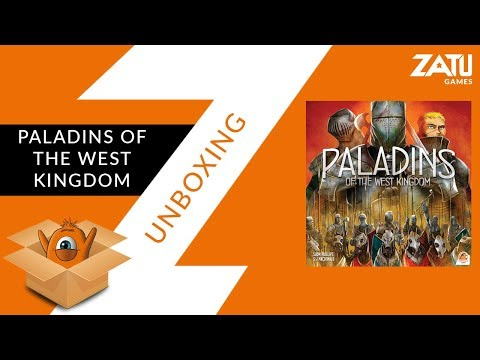 Paladins Of The West Kingdom Unboxing