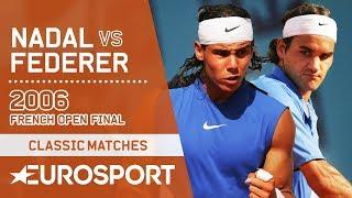 Rafael Nadal vs Roger Federer Highlights | French Open 2006 Men's Final | Eurosport