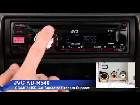 jvc kd r jvc kd r540 car stereo ipod iphone ready w pandora support duration 55 total views 8 927 rating 4 5 based on 15 reviews