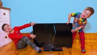 Не ПОДЕЛИЛИ Телевизор! Кто ТЕПЕРЬ Сможет СМОТРЕТЬ Артур или Давид ?!