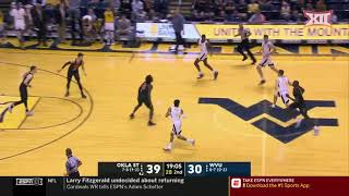 Oklahoma State vs West Virginia Men