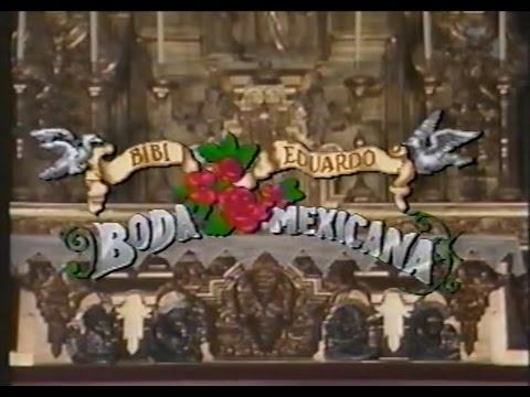Bibi Gaytan y Eduardo Capetillo: Boda mexicana (1994)