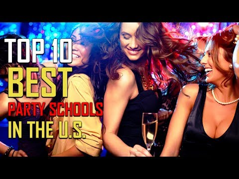 Top 10 Best Party Schools in the US