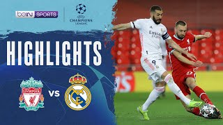 Liverpool 0-0 Real Madrid   Champions League 20/21 Match Highlights