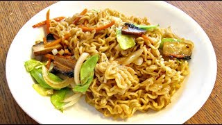 Lo Mein - Western Style Fast Food Chow Mein Recipe With Vegetables - Poormansgourmet