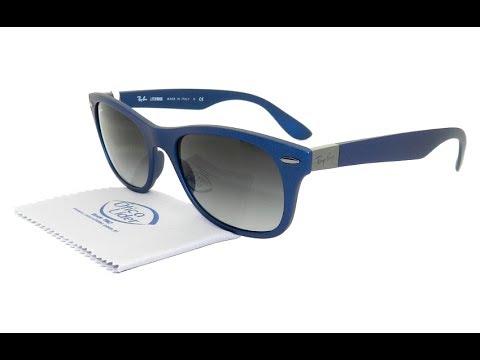 ray ban wayfarer azul espelhado