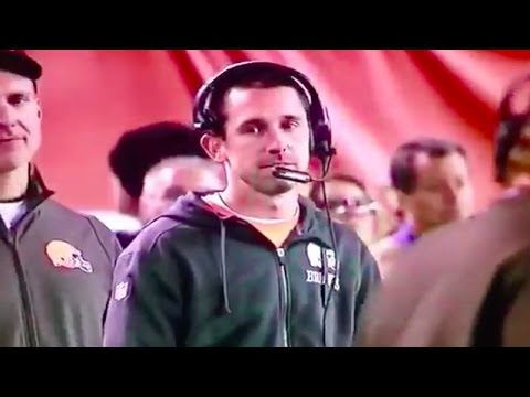 Kyle Shanahan's look at Mike Pettine's play suggestion is fantastic