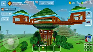 Block Craft 3D Building Simulator Games For Free Gameplay 1064 iOS Android Tree Hotel