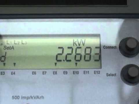 EDMI solid state kWh meter  YouTube