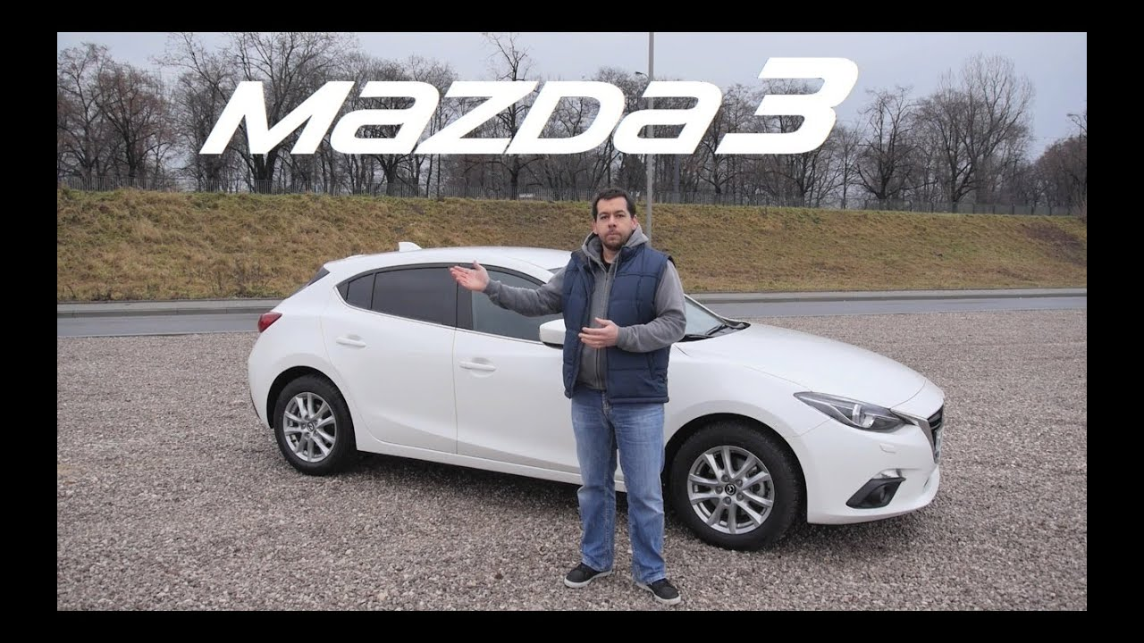 (ENG) Mazda3 SKYACTIV-G 2 0 165KM - Test Drive and Review