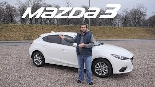 (ENG) Mazda3 SKYACTIV-G 2.0 165KM - Test Drive and Review