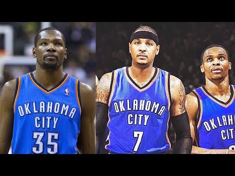 Kevin Durant Joins Thunder After Carmelo Anthony Trade to Thunder