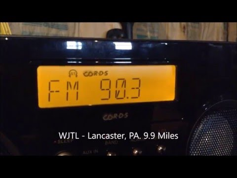 Quick FM Bandscan for Lancaster, PA