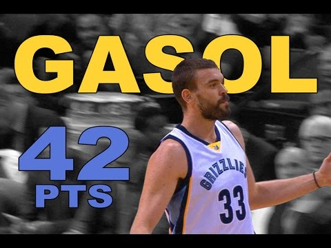 Marc Gasol CAREER HIGH 42 POINTS vs. Toronto | 01.25.17