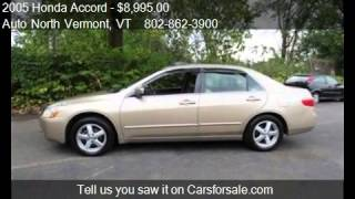 2005 Honda Accord EX-L Sedan AT with XM Radio for sale in So