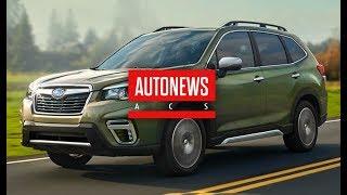 Новый Subaru Forester пятого поколения