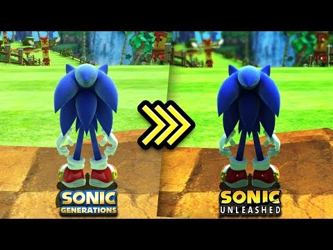 SONIC GENERATIONS - Sonic Unleashed Shaders