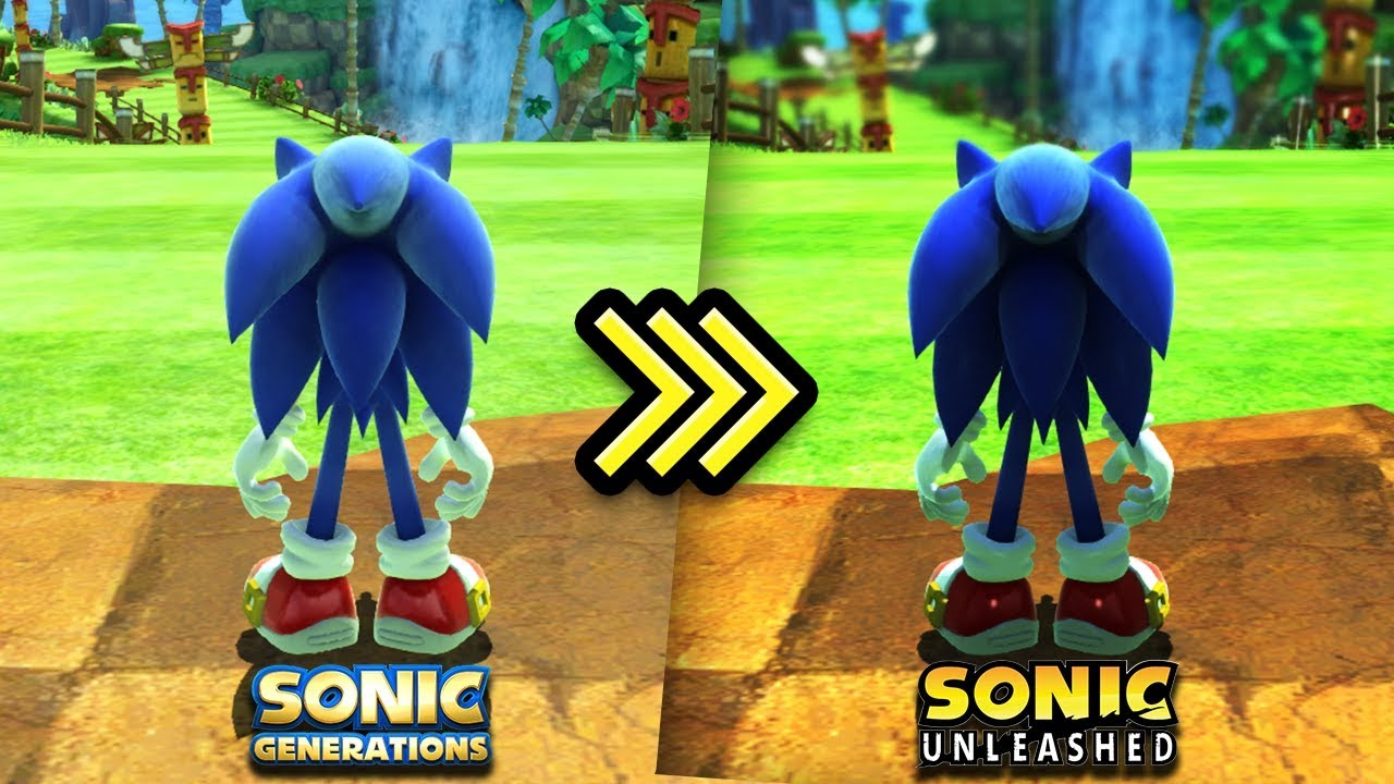 Sonic Generations Sonic Unleashed Shaders Youtube