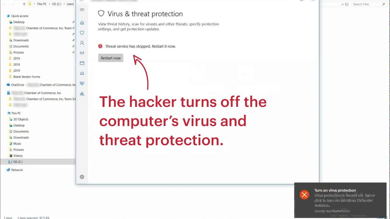 Watch a Hacker Install Ransomware