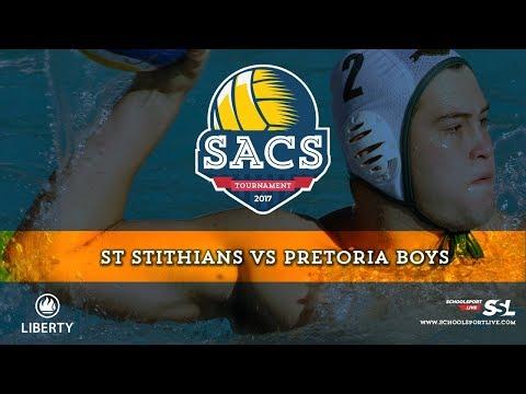 St Stithians vs Pretoria Boys: SACS Waterpolo Tournament, Monday 2nd October 2017, Final Day