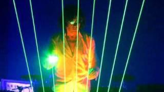 laserharp ii jean michel jarre