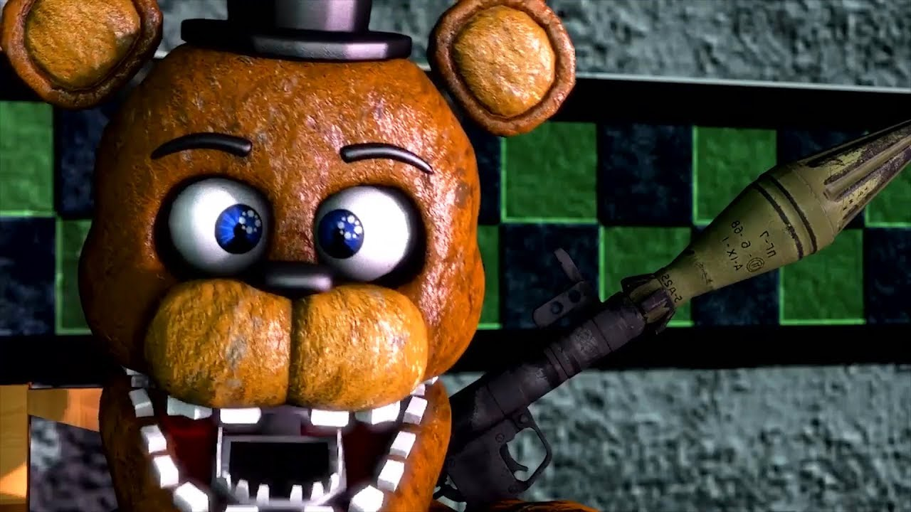 FNAF 2 MARKIPLIER FUNNY MOMENTS ANIMATED by Spanky Cinema