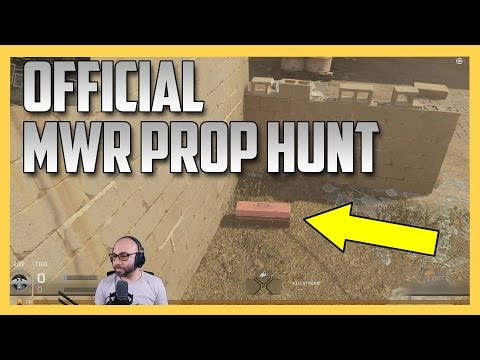 Official Prop Hunt In MWR (Weekend Only Event in Modern Warfare Remastered)