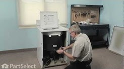 Washer Repair- Replacing the Mounting Stem/Tub Seal Kit (Whirlpool # 6-2095720)