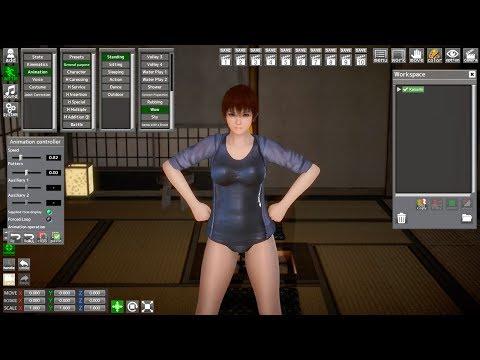 Honey Select Studio NEO | Kasumi Pole Dance