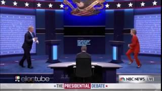 Hillary vs Trump - Dancing Debate on Ellen